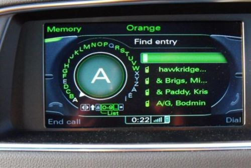 Audi A4/ A5/ A6/ A8/ Q5 and Q7 Factory bluetooth MMI 3G