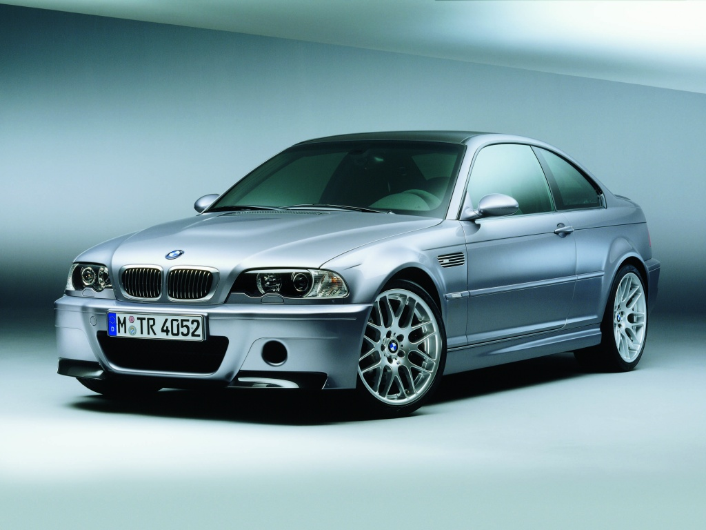 BMW M3 CSL with Parrot ck3100 Installed