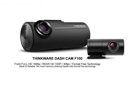 Thinkware F100 1080p Front & Rear Dash Cam